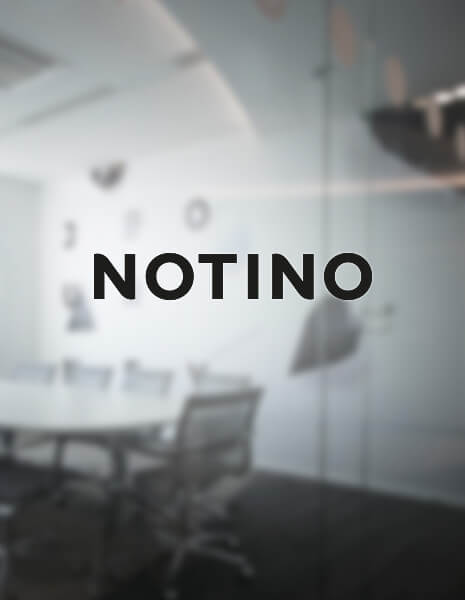 Notino interior design / wallmarketing